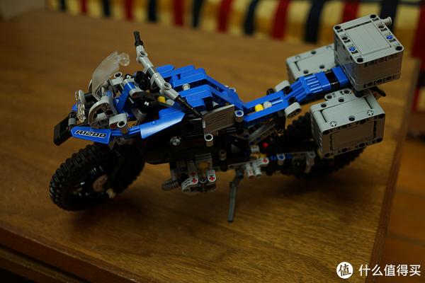 LEGO乐高科技42063宝马摩托车开箱v布艺家居布艺版图纸图片