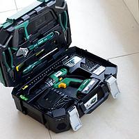 男人工具控——SATA 世达 88件家用电钻套装众测报告