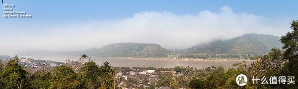 俯瞰LuangPrabang
