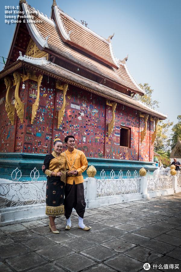 老挝人的婚纱照