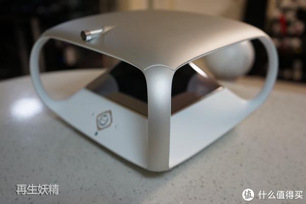 #本站首晒# 琥珀 虚颜 全息二次元人工智能机器人 开箱、试用、评测