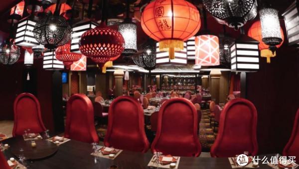 量子号丝绸之路餐厅菜式为亚洲风格