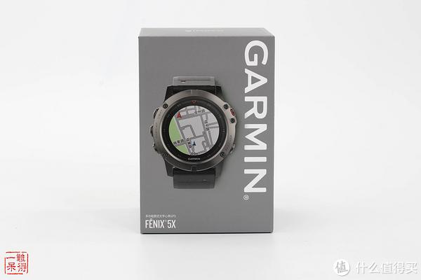 是男人就该带大表:GARMIN Fenix 5X及钛表带开箱