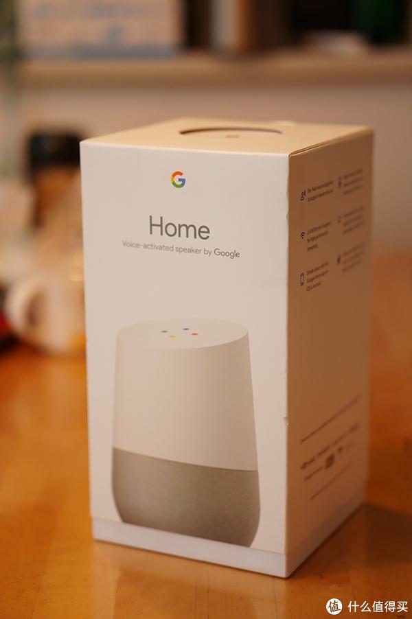 Google Home 包装