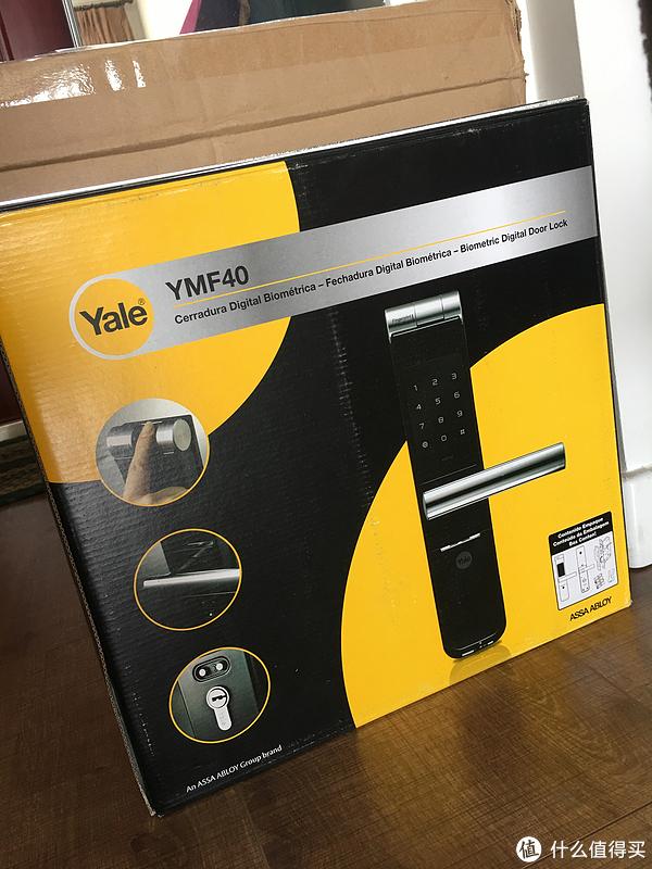 挑选了一个月的指纹锁——YALE 耶鲁 YMF40