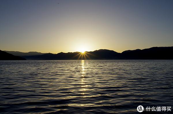 大落水看日出