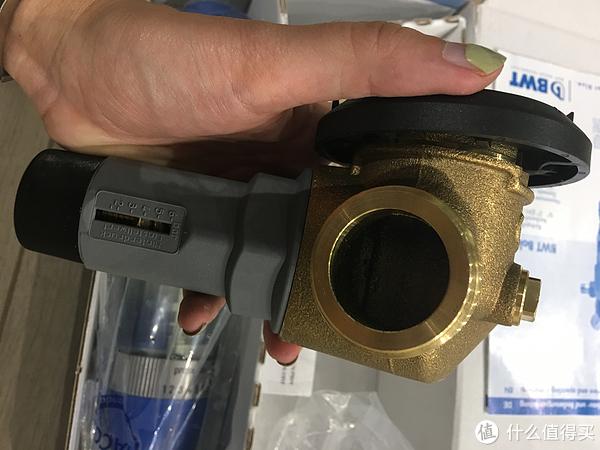 BWT倍世前置10370滤水器开箱,安装及使用感受