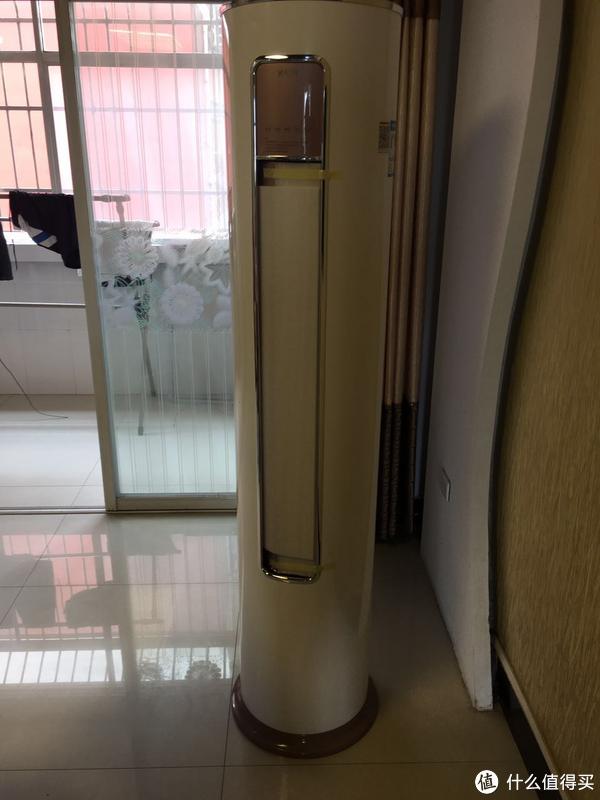 YAIR 扬子 3匹冷暖圆柱式变频空调 安装及体验