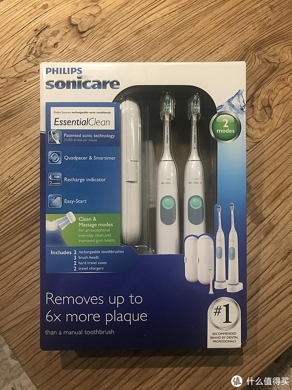 PHILIPS 飞利浦 HX6240 声波电动牙刷 体验
