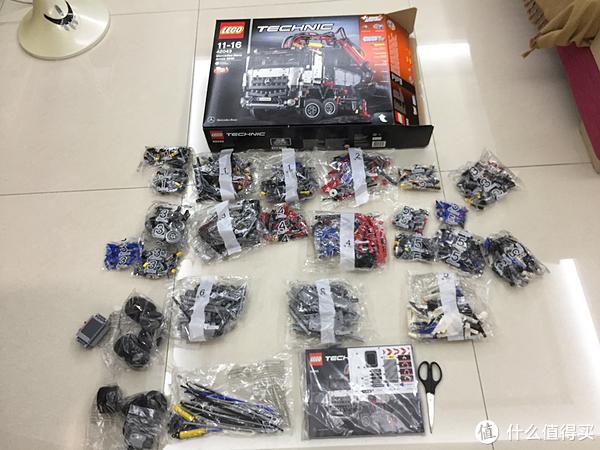 不惑大叔的legogo 篇八:心有猛虎—— LEGO 乐高 42043 奔驰大卡