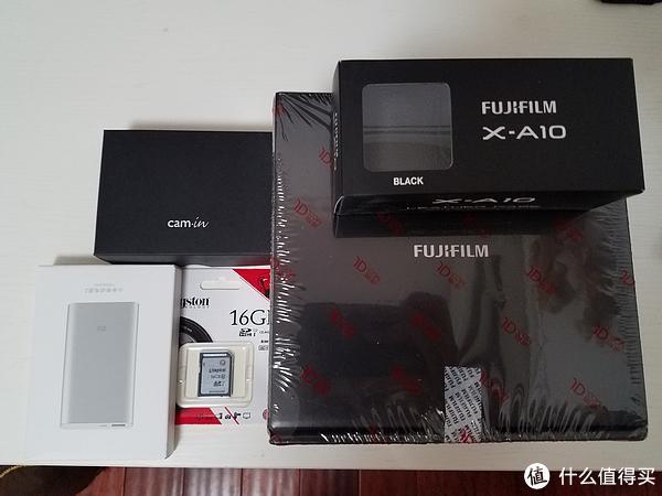 买充电宝送相机系列 — FUJI 富士 X-A10相机 开箱