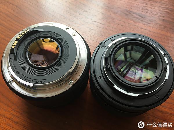 Canon 佳能 EF 50mm f/1.8 标准定焦镜头与康泰时50mm 1.4相隔一个时代的对话
