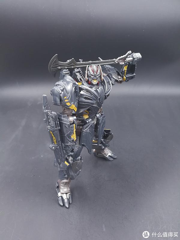 变形金刚玩具 篇112:我玩过的最好的电影玩具——电影5最后的骑士V级威震天