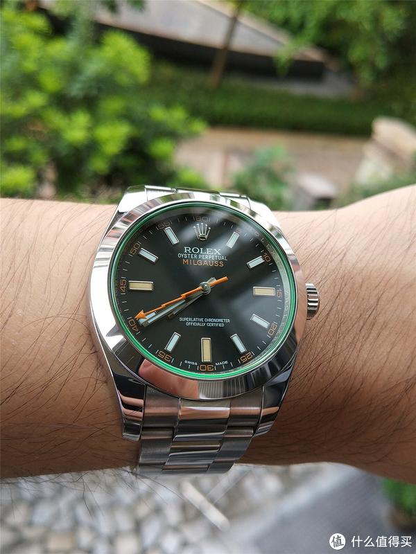 只为那一抹绿——ROLEX 劳力士 116400GV 机械腕表