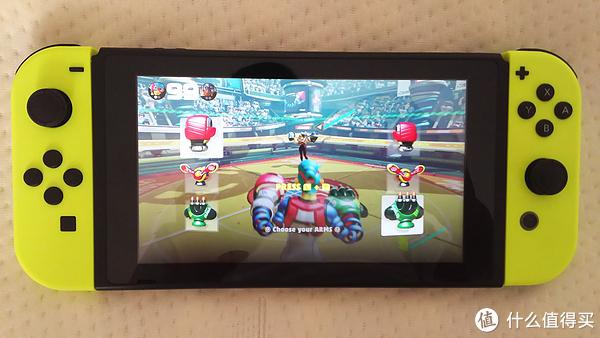 nintendo switch 游戏推荐篇 -拳击动作类 ARMS
