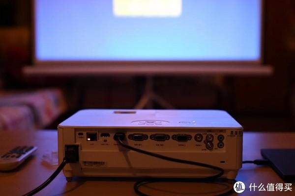 #原创新人# 家庭影音新成员 — NEC NP-CD3100H 家用投影机评测