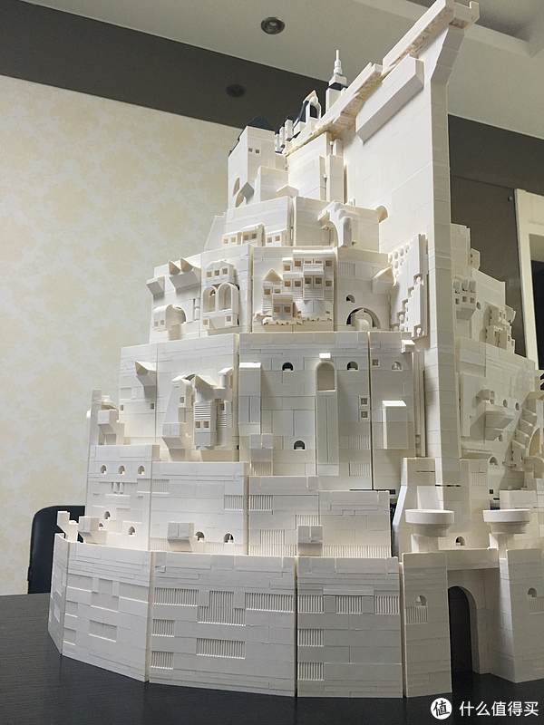 为信仰埋单:乐高魔戒系列MOC 篇一:刚铎白城MOC+某宝散砖购买心得