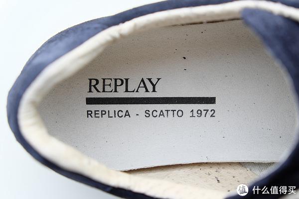 我的第一双瑞典淘——Replay REPLICA SCATTO 1972