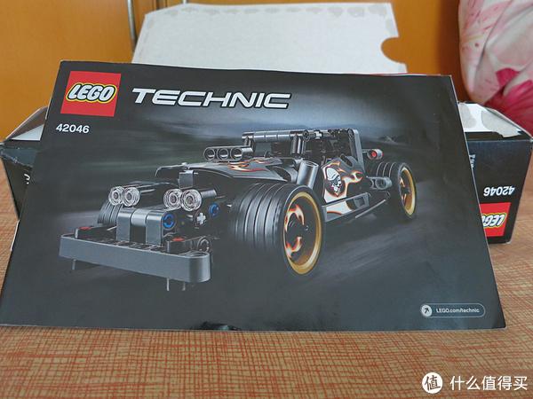 LEGO 科技系列入门款42046狂野赛车与细节品鉴