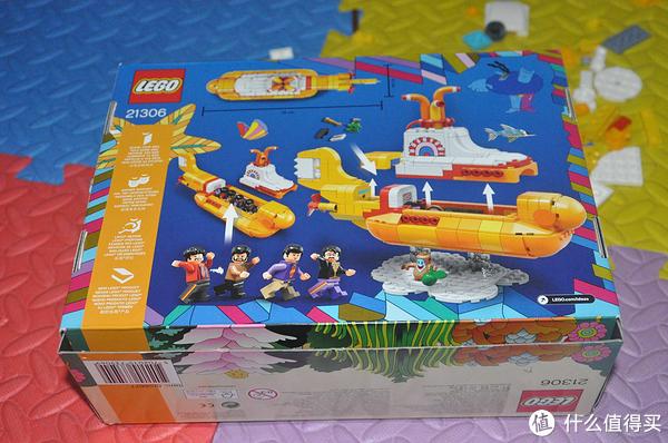 单反毁一生,LEGO穷三代 篇九十:LEGO 乐高 Ideas 创意系列 21306 披头士黄色潜水艇