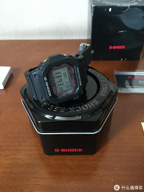 腕表界的小红圈,卡西欧 G-Shock 太阳能电波腕表GWM5610-1晒单