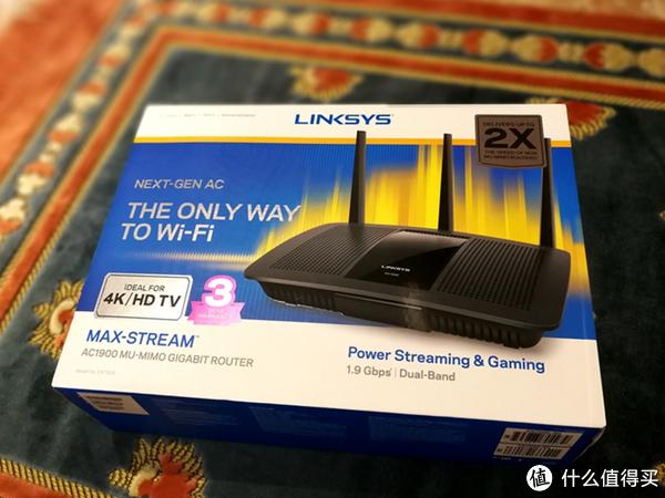 千元家用之选:LINKSYS 领势 EA7500无线路由器