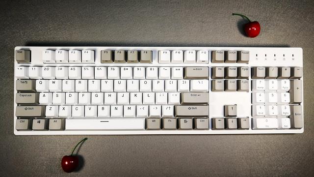 灰白配的简约之美,评测DURGOD 杜伽 Taurus(金牛座) K310  机械键盘
