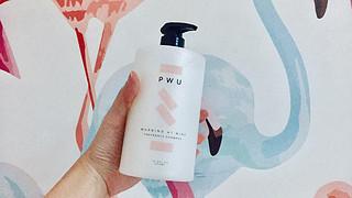 PWU朴物大美小苍兰香氛柔顺亮泽无硅油洗发水体验