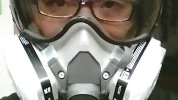 3M 6211 空气过滤面罩 霸气晒单。。。。