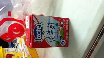 LACTEL 兰特 全脂牛奶 200ML*24盒已经收到