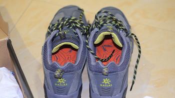 KAILAS 凯乐石 艾夫 男款低帮 徒步鞋 KS310371+ 男款圆领户外T恤 DG710107