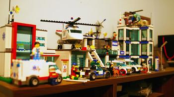 【二连发】LEGO 乐高 城市组 直升机营救 4429,警察总局7498