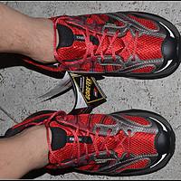晒一下骚红的 Tecnica 泰尼卡 DRAGON MAX GTX MS 11226400 越野跑步鞋