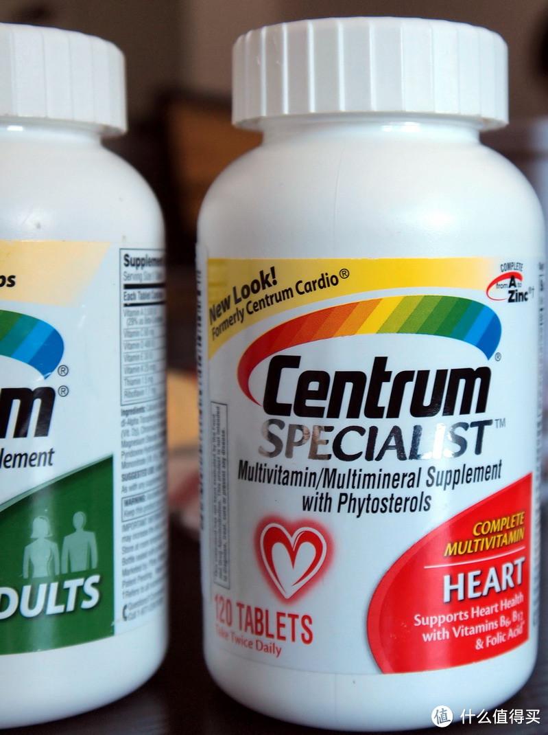 海淘各种维生素片:善存成人维生素片、心脏加强维生素片和P&P ABC PLUS、中老年加强维生素