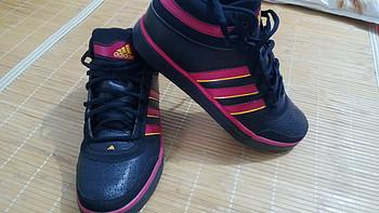 adidas 阿迪达斯 TOP TEN LE MID NBA  男子篮球鞋  G56706(关键字:头层牛皮,3折,骚红,屌丝...)