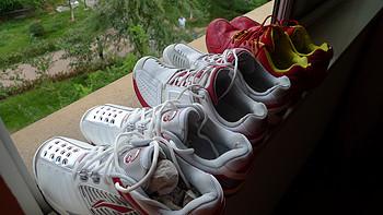 屌丝男的羽毛球鞋及附属晒单