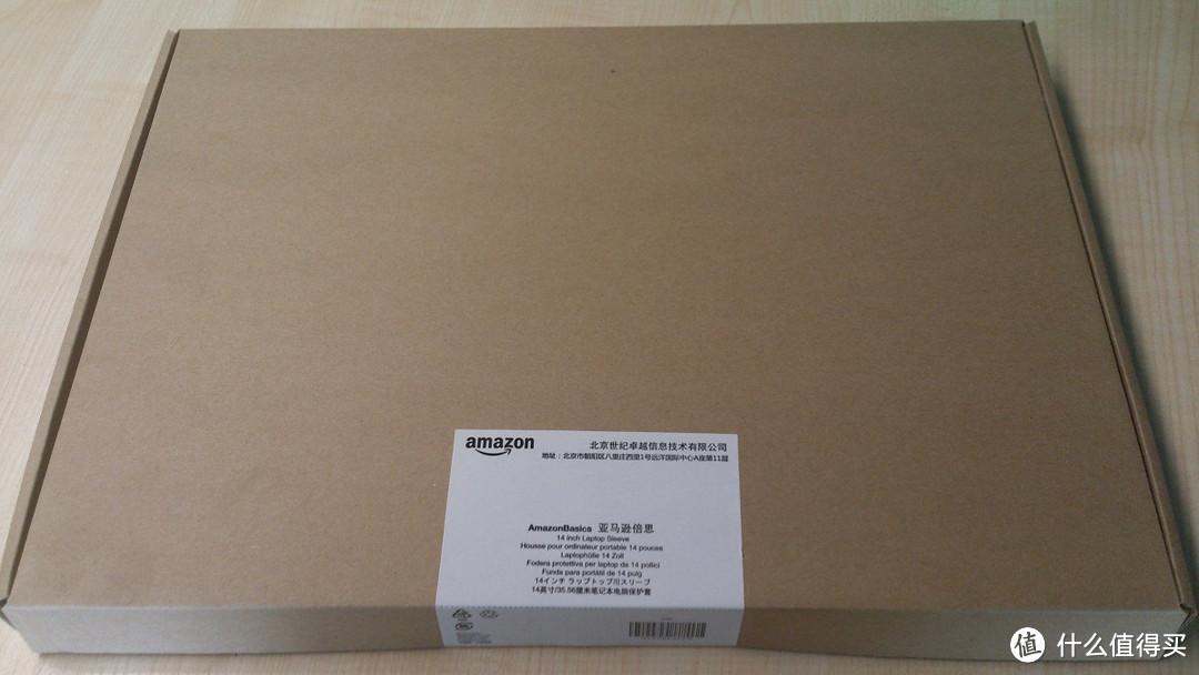 AmazonBasics 亚马逊倍思 14 英寸/35.56厘米笔记本电脑保护套 开箱图文