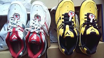 羽毛球屌丝的神器三——闷骚的黄色胜利 羽毛球鞋 SHW503 E