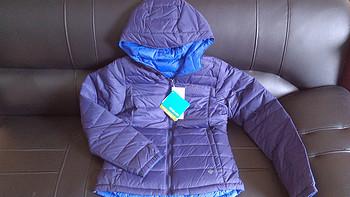 瞬间变身蓝巨人——Columbia 哥伦比亚 缤纷潮野 女式羽绒服 PL5323