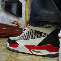 大熊晒单系列又来了——NIKE 耐克 Air Jordan 乔丹 Flight Club 80's  篮球鞋,虽非正代,但最爱复古风