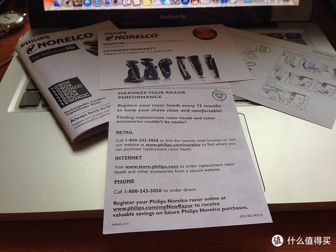 【真人秀】双十一低价直邮购入的 Philips 飞利浦 Norelco 臻锋系列 1280X SensoTouch 剃须刀,附使用效果