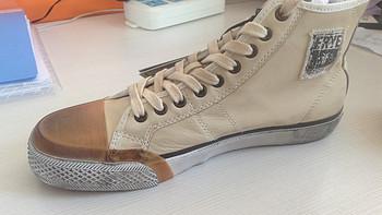 Frye 弗莱 Greene 81250 男士高帮休闲鞋 + Timberland 天木兰 Earthkeepers Original 男款徒步靴