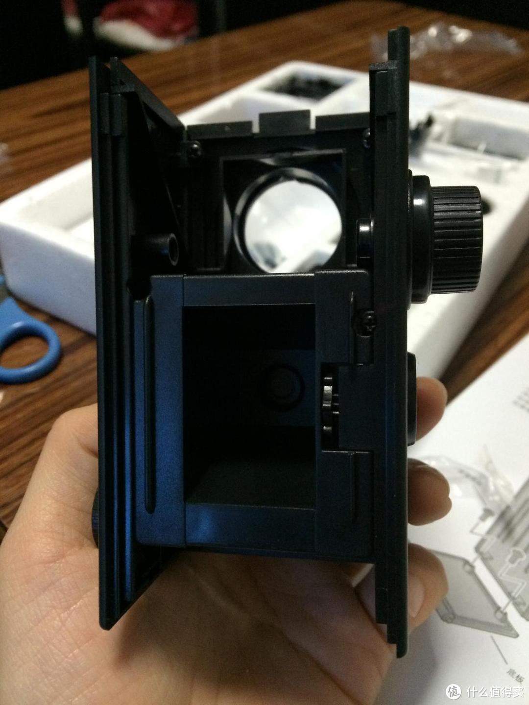 【真人秀】《大人的科学》之复古双反相机(后有胶卷成片分享~)