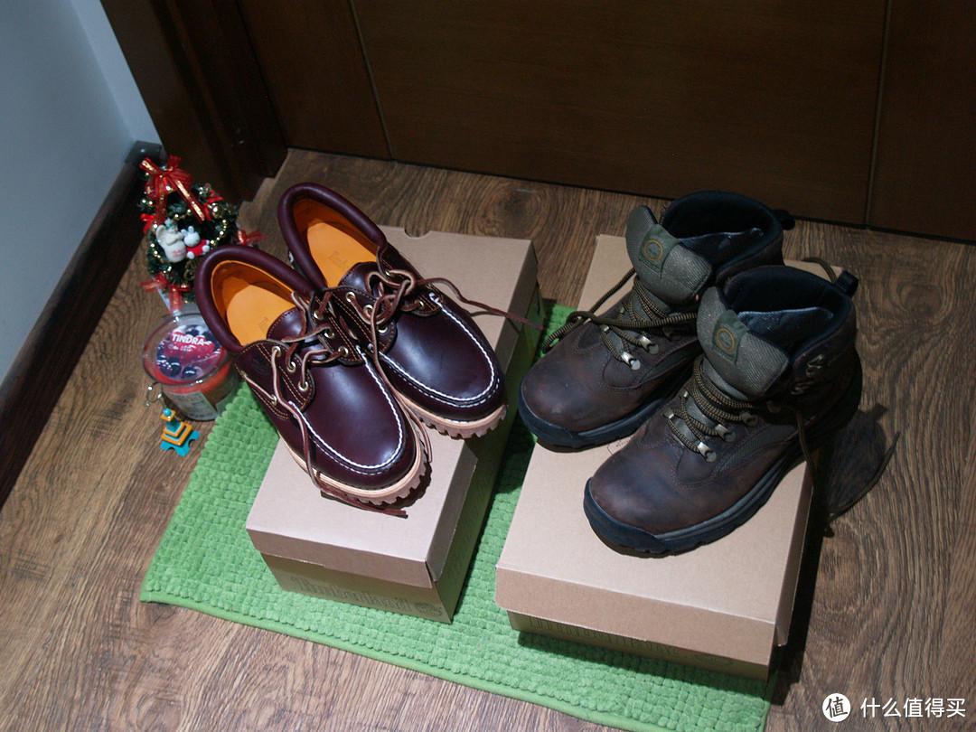 Timberland 天木兰 Chocorua Trail Gore-Tex 女款中帮徒步靴 + 天木兰 男士经典船鞋,呆萌小黄人友情出镜