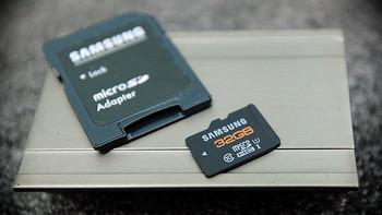 京东神券入手的Samsung 三星 32GB TF 存储卡(Class10、UHS-1、三防、橙卡)