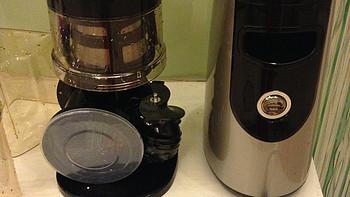 惠人 HH-SBF11 原汁机开箱展示(主机|散热口|插座|滤网|出汁口)
