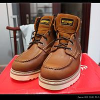 稀里糊涂的 Wolverine 渥弗林 W08288 男款工装靴