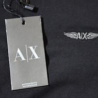 穷耐克 富阿迪 流氓一身阿玛尼:海淘Armani Exchange 男士T恤