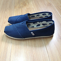 TOMS Navy Canvas 男士经典款休闲布鞋 — 爱鞋成痴