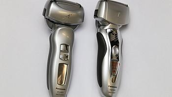 往复式好选择:Panasonic 松下 ES8103S 三刀头 电动剃须刀,与LA63对比